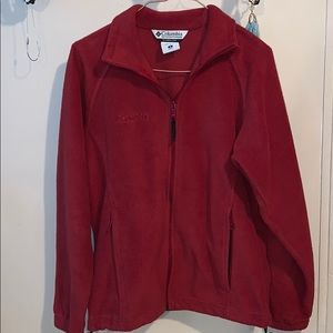Red small Columbia jacket